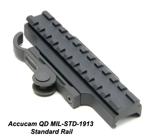GG&G Accucam Quick-Detach Standard 1913 Base