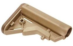 B5 Systems Mil-Spec BRAVO SOPMOD Buttstock for AR15 M4 M16 FDE