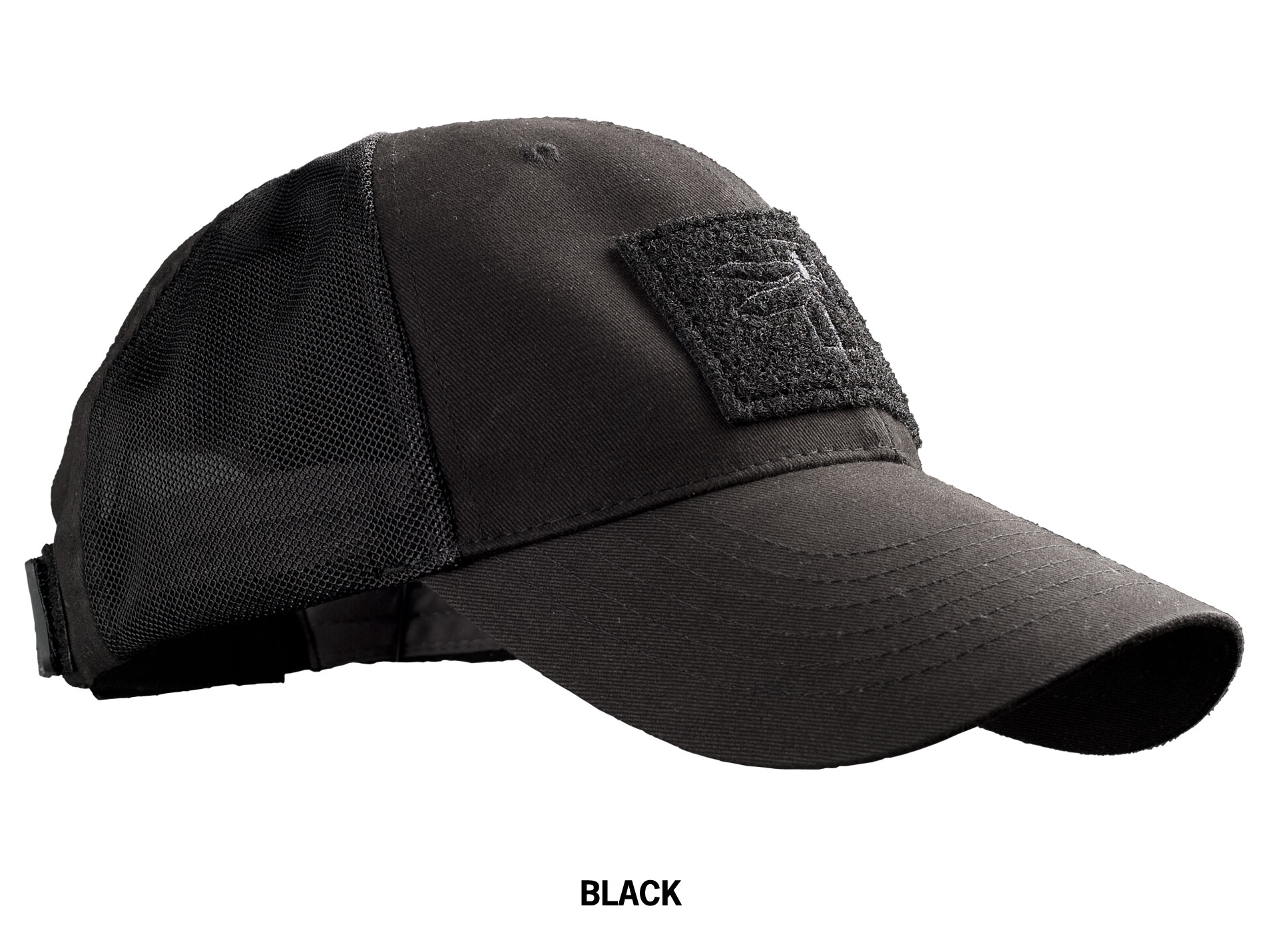 Haley Strategic Troubleshooter Cap in Jet Black with Patch