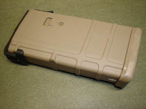 MagPul PMAG 20-Round Magazine for the AR 15 FDE