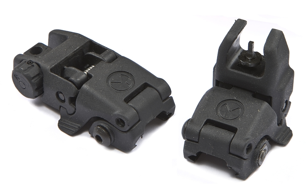 MagPul MBUS Back-Up Sights FDE GEN 1