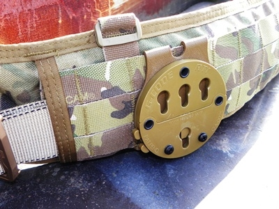 G-Code XST RTI MOLLE Battle Belt Adapter Coyote