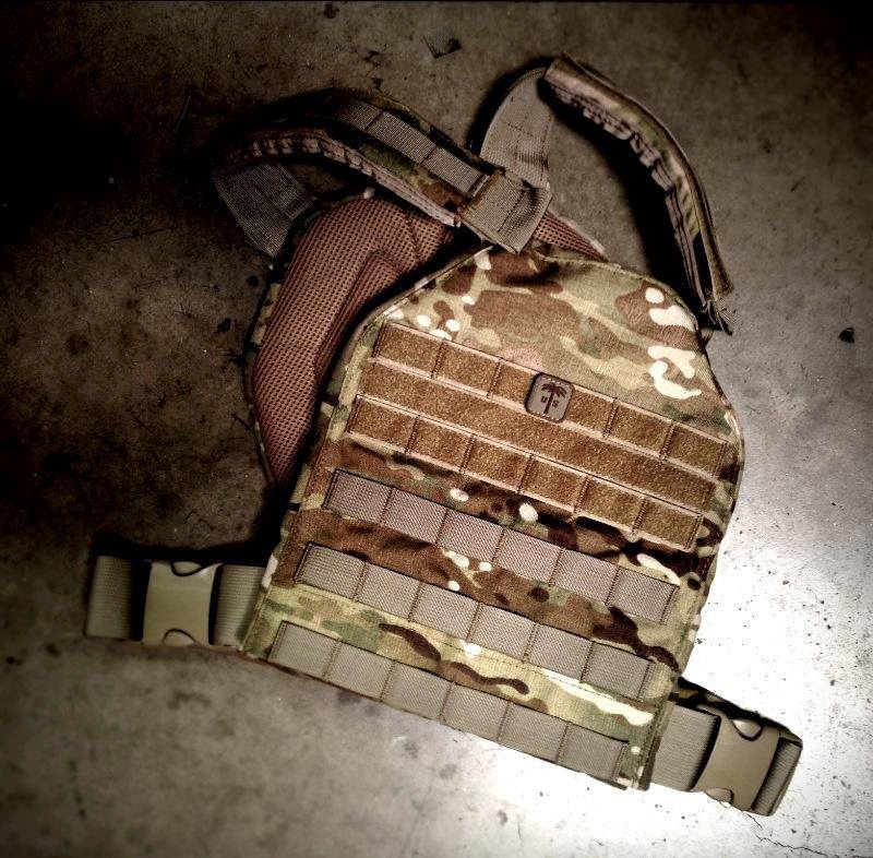 SAP-C Level 4 Plates MOLLE Carrier and Armor by US Palm