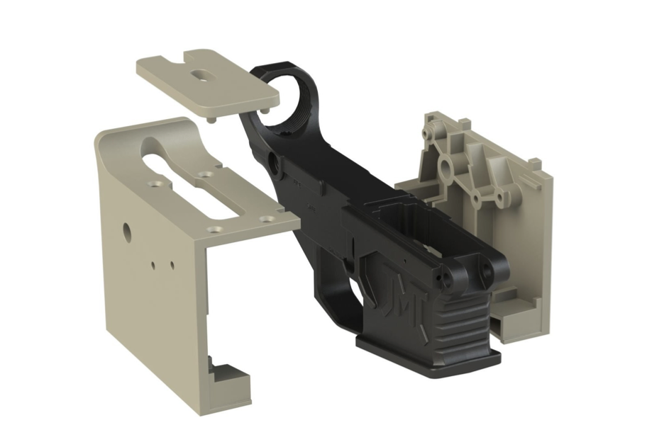 James Madison Tactical 80% AR-15 M4 Lower and Jig