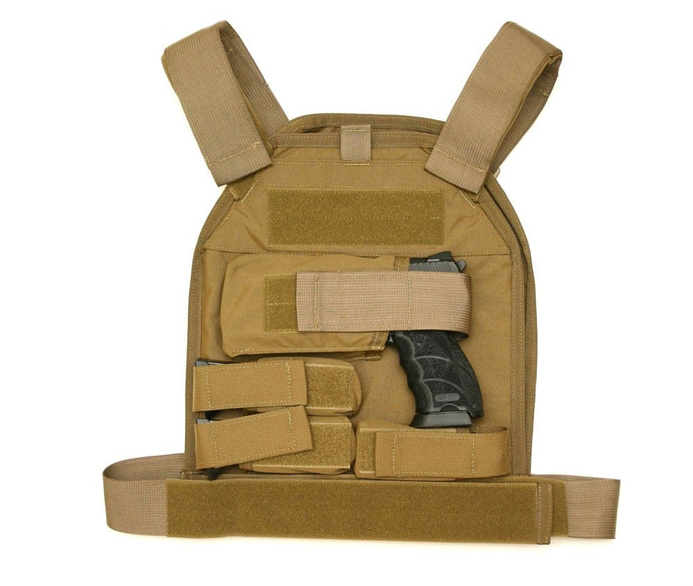 US Palm Defender Level 3A Armor and LARGE Vest - LH Handgun