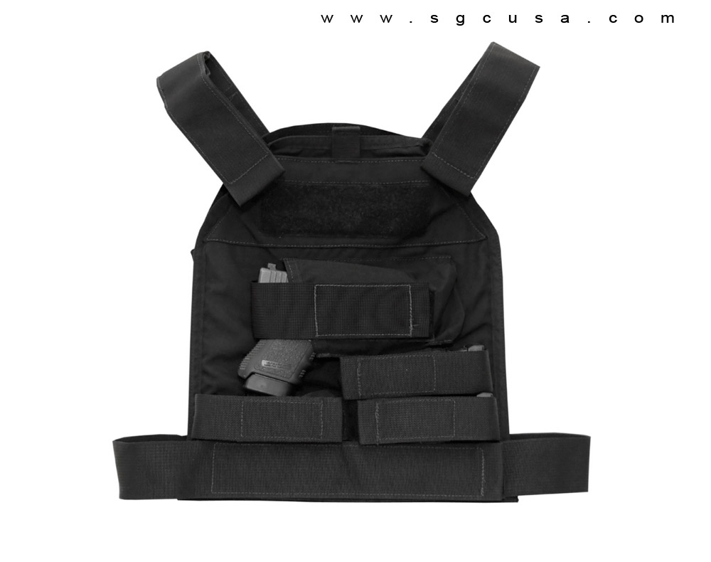 US Palm Defender Level 3A Armor and XL Vest - RH Handgun