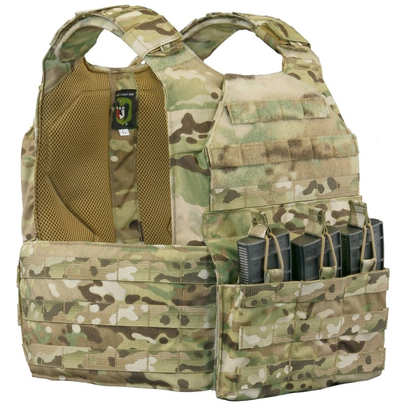 TAG Vanguard Armor Plate Carrier with Standard Cummerbund