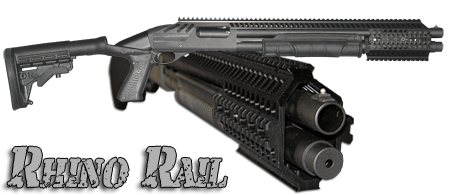Rhino Rail© Full Rail System for Mossberg 500/590/930 Shotguns