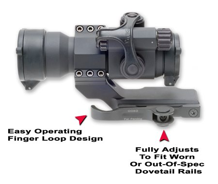 GG&G Aimpoint Cantilever Ring Mount Accucam