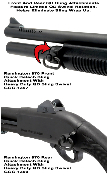 Remington 870 Quick Detach Rear Sling Attachment