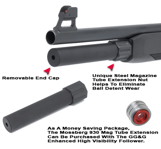 Mossberg 500 magazine extension