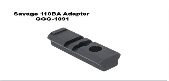 GG&G Savage 110BA Bipod Adapter