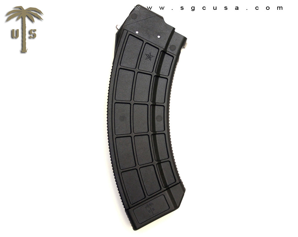 US Palm AK 30 30-Round Magazine BLACK for AK-47