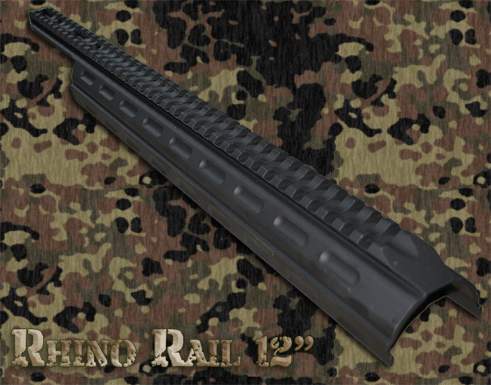"12"" Rhino Rail for Remington Shotguns"